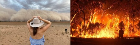 Dust Storms in Australia