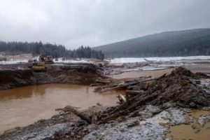 Siberian Gold Mine Dam Collapse