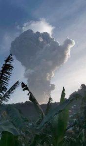 Massive eruption at Soufriere St. Vincent