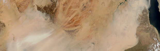 Sahara Dust Storms