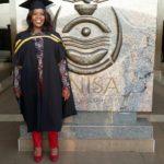 Miss M P MOTHIBA Graduation. UNISA Graduation