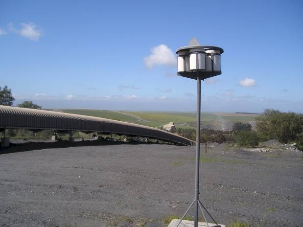 Four bucket system - Dust monitoring equipment