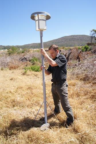 Chris Loans - Dust monitoring equipment