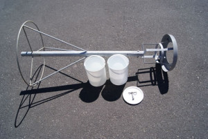 Two bucket system - Dust monitoring equipment