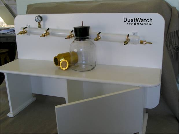 Filter bench - Buchner funnel lab equipment
