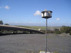 Four bucket system - dust monitoring equipment - Measuring Dust